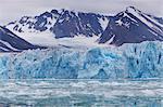 Glacial ice in Spitsbergen, Svalbard