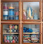 Close-up of cupboard