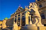 Belvedere, UNESCO World Heritage Site, Vienna, Austria, Europe
