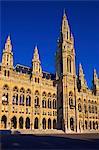 Vienna City Hall, Vienna, Austria, Europe