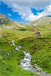 Creek, Mont Fallere, Aosta Valley, Italian Alps, Italy, Europe