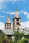 Cathedral of Santa Maria Assunta e San Giovanni Battista, Aosta, Aosta Valley, Italian Alps, Italy, Europe