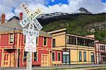 White Pass Railway, Skagway, Alaska, United States of America, North America