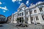 Town hall in the Pelourinho, UNESCO World Heritage Site, Salvador da Bahia, Bahia, Brazil, South America