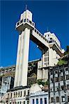 Lacerda Lift in the Pelourinho, Salvador da Bahia, Bahia, Brazil, South America