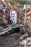 Riomaggiore, Cinque Terre, La Spezia District, Italian Riviera, Liguria, Italy