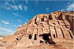Ruins of Corinthian Tomb, Petra, Jordan