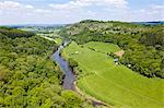 River Wye from Symonds Yat Rock viewpoint, UK