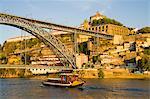 Pleasure cruise, Douro River, Porto, Portugal