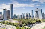 Beijing CBD area cityscape
