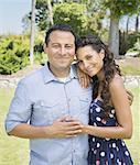 Portrait of Latino Couple