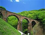 Annaka Bridge (Usuigawa Bridge), Gunma Prefecture, Japan