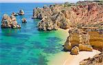 Praia do Camilo, Lagos, Western Algarve, Algarve, Portugal, Europe