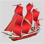 ship  transport  flag
