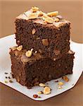 Peanut brownies