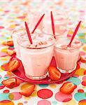 Creamy strawberry soup