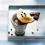 Choco-hazelnut turnover
