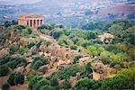 Temple of Concordia (Tempio della Concordia), Valley of the Temples (Valle dei Templi), Agrigento, UNESCO World Heritage Site, Sicily, Italy, Europe
