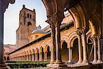 Duomo di Monreale (Monreale Cathedral), Monreale, near Palermo, Sicily, Italy, Europe