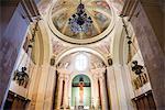 Syracuse Cathedral (Duomo di Siracusa) interior, Ortigia (Ortygia), Syracuse, UNESCO World Heritage Site, Sicily, Italy, Europe