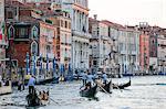 Grand Canal, Venice, UNESCO World Heritage Site, Veneto, Italy, Europe