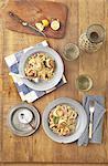 corn scallop pasta