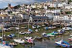 Harbour, Brixham, Devon, England, United Kingdom, Europe