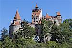 Bran castle, Transylvania, Romania, Europe