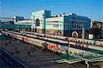 Trans-Siberian railway station, Novosibirsk, Novosibirsk Oblast, Russia, Eurasia