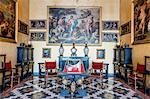 The Borromeo's Palace on Isola Bella, Borromean Islands, Lake Maggiore, Piedmont, Italy, Europe