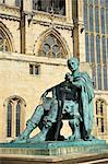 Statue of Roman Emperor Constantine the Great, York, Yorkshire, England, United Kingdom, Europe