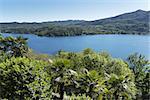 Orta lake, landscape in warm season - Piedmont, Italy