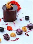 Chocolate delice individual dessert