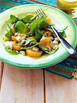 Nutty mandarin orange salad