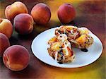 Peaches on toast