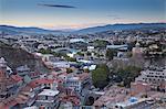 View of Tbilisi, Georgia, Caucasus, Central Asia, Asia