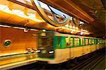 Arts Et Metiers Metro Station, Paris, France, Europe