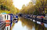 Canal boats, Little Venice, London, England, United Kingdom, Europe
