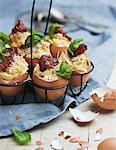 Food in eggshells, Sweden