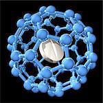 Nanomedicine, conceptual computer artwork.
