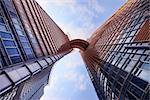 HONG KONG, CHINA - L'hotel Nina et Convention Centre Hong Kong is a 5-star hotel consists of 2 towers - 42 storeys and  89 storeys Hong Kong,