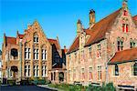 Old Saint John Hospital, Historic center of Bruges, UNESCO World Heritage Site, Belgium, Europe