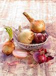 Assortment of onions