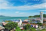 View of Pangkor Town, Pulau Pangkor, Perak, Malaysia