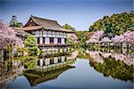 Kyoto, Japan gardens at Heian Shrine.