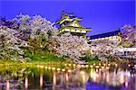 Koriyama Castle in Nara, Japan.