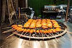 Fresh cooked food at the Shilin Night Market, Taipei, Taiwan, Asia