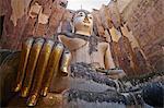 Wat Si Chum, Sukhothai Historical Park, UNESCO World Heritage Site, Sukhothai, Thailand, Southeast Asia, Asia