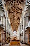 Europe, United Kingdom, England, Norfolk, Norwich, Norwich Cathedral