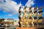 Asia, Japan, Kyushu, Nagasaki, modern art sculpture